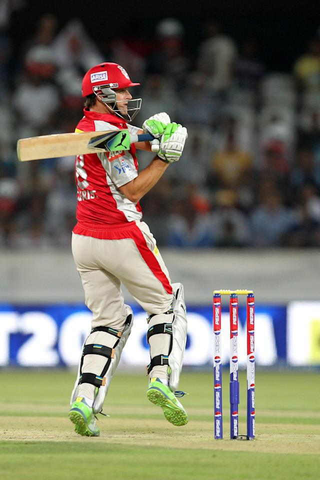Adam Gilchrist during match 25 of the Pepsi Indian Premier League between The Sunrisers Hyderabad and The Kings XI Punjab held at the Rajiv Gandhi International  Stadium, Hyderabad  on the 19th April 2013Photo by Prashant Bhoot-IPL-SPORTZPICS Use of this image is subject to the terms and conditions as outlined by the BCCI. These terms can be found by following this link:https://ec.yimg.com/ec?url=http%3a%2f%2fwww.sportzpics.co.za%2fimage%2fI0000SoRagM2cIEc&t=1503264028&sig=DZ9Qr1KHpZgiYn5m.80Nqg--~D