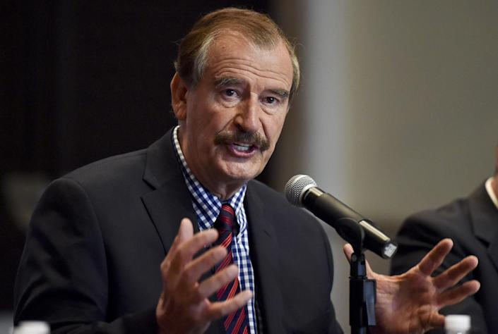 Image: Former Mexican President Vicente Fox (Yuri Cortez / AFP - Getty Images file)