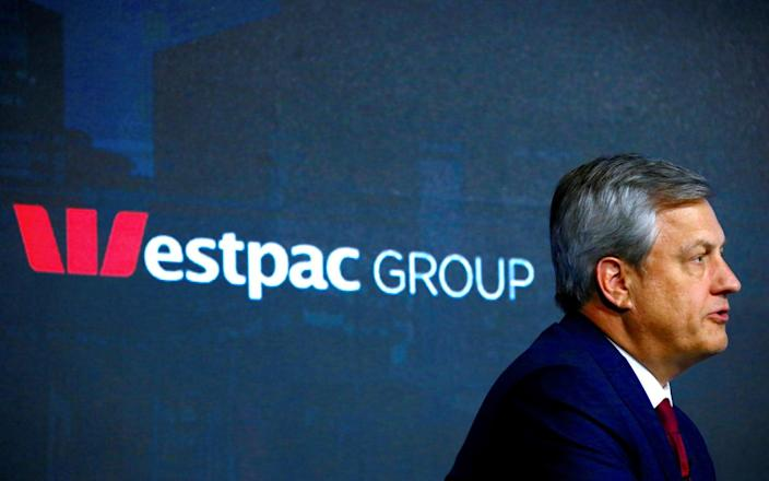 Westpac's former chief executive, Brian Hartzer, who resigned over the scandal - REUTERS