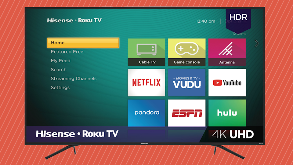 Save $300 on the Hisense 75-inch Class 4K Ultra HD LED Roku Smart TV. (Photo: Walmart)
