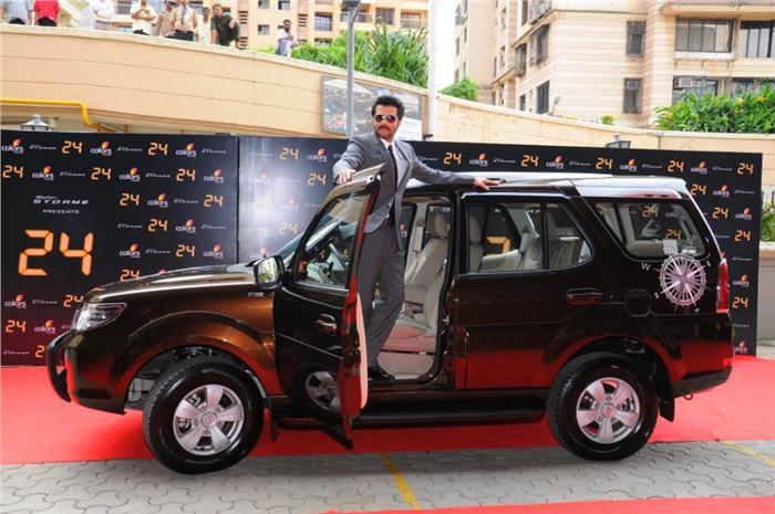 <strong>Anil Kapoor- Tata Safari</strong> The Tata Safari Storme was gifted to him by the car-maker itself and he still keeps it in his fleet. It was for the TV series '24'.