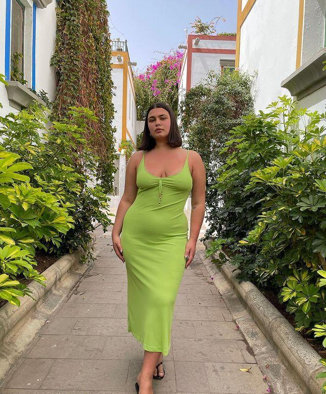 """<p>We're often told as plus-size individuals that we shouldn't wear figure-hugging pieces, but I think we all know by now that's not true. So follow in Isabelle Cohen's footsteps and find a fitted dress that makes you happy and truly celebrates your body.<br></p><p><a href=""""https://www.instagram.com/p/CM2pq3dhxWJ/?utm_source=ig_embed&utm_campaign=loading"""" rel=""""nofollow noopener"""" target=""""_blank"""" data-ylk=""""slk:See the original post on Instagram"""" class=""""link rapid-noclick-resp"""">See the original post on Instagram</a></p>"""