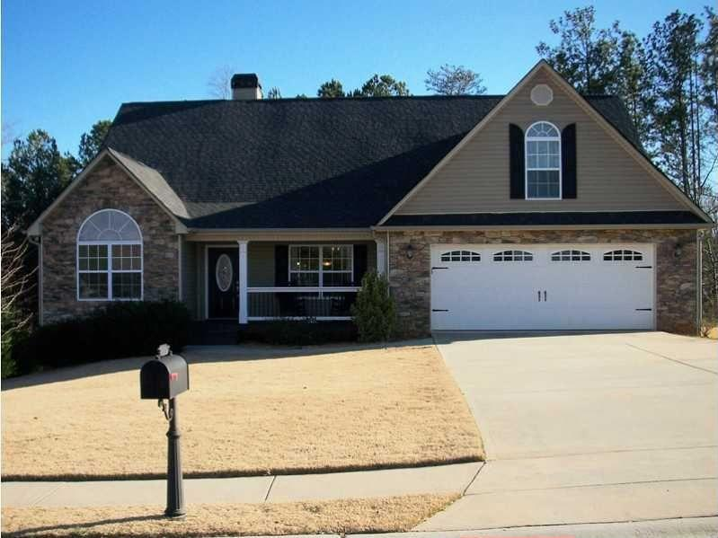 Gainesville, GA  5617 River Stone Rd, Gainesville GA For sale: $195,900  The bright, open floor plan of this home includes a two-story great room and eat-in kitchen. The 1,716-square-foot residence has 4 bedrooms and 3 baths on a 1-acre lot.