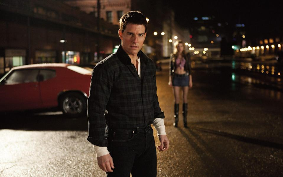 Tom Cruise as Jack Reacher in the 2012 film