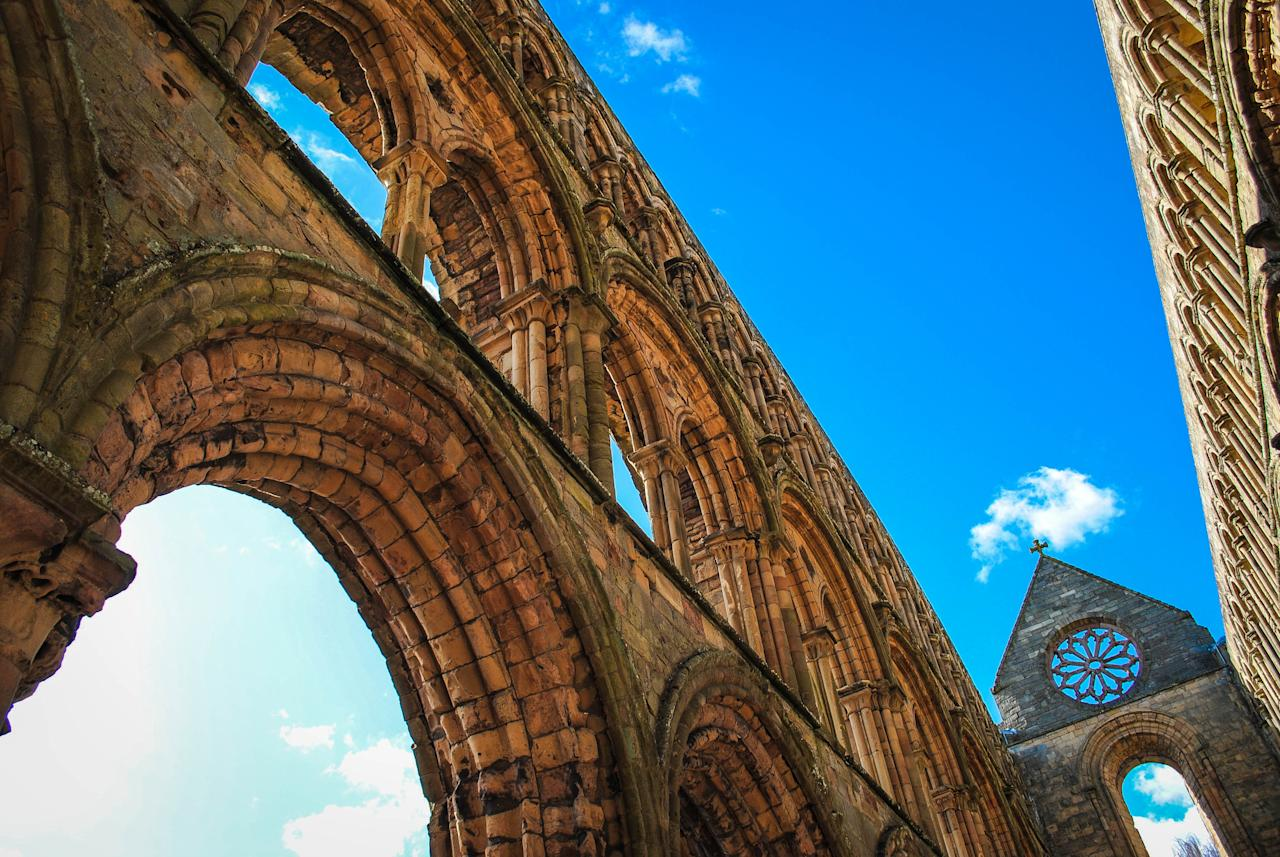 <p>The winning public vote photograph was a shot of Jedburgh Abbey taken on a school trip, and was won by Manchester's Jenna Johnston who walks away with £250. (Historic Photographer of the Year) </p>