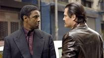 <p>Like Hardy, Denzel Washington is an actor who could own a lot of real estate on a list like this, but none of his characters is as brazenly violent and intimidating as Lucas. In <em>American Gangster</em>, he executes a cheeky Idris Elba on a busy New York street in broad daylight, only to calmly take back his seat at a diner and finish his coffee.</p><p><strong><em>Honorable Mention:</em></strong> Washington as Robert McCall in <em>The Equalizer</em> movies. McCall kicks ass left and right to help protect those who can't do it for themselves.</p>