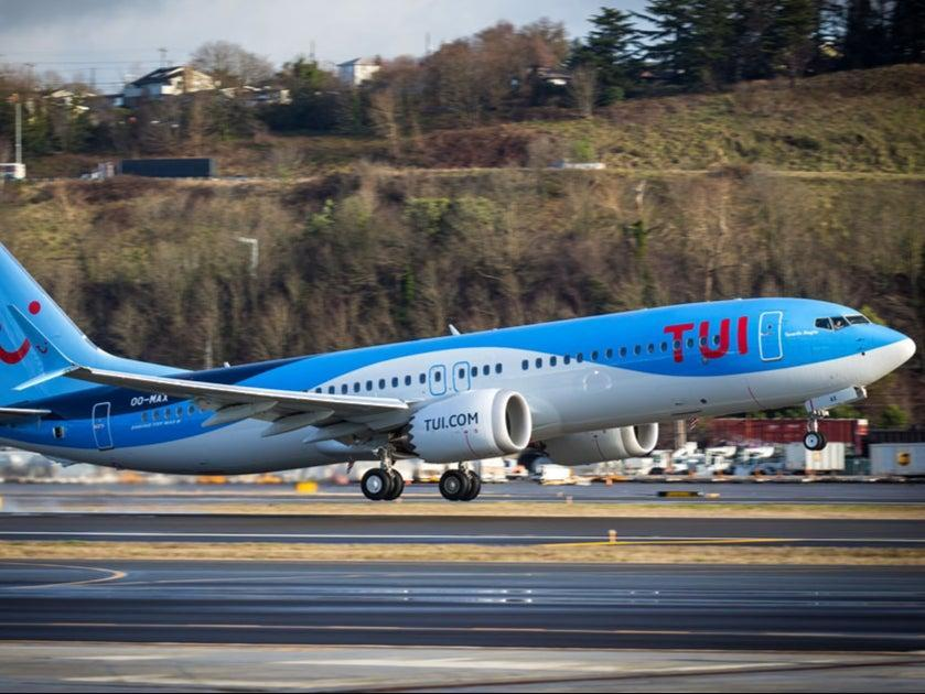 Flying high: Boeing 737 Max belonging to Tui Fly Belgium (Tui Fly Belgium)