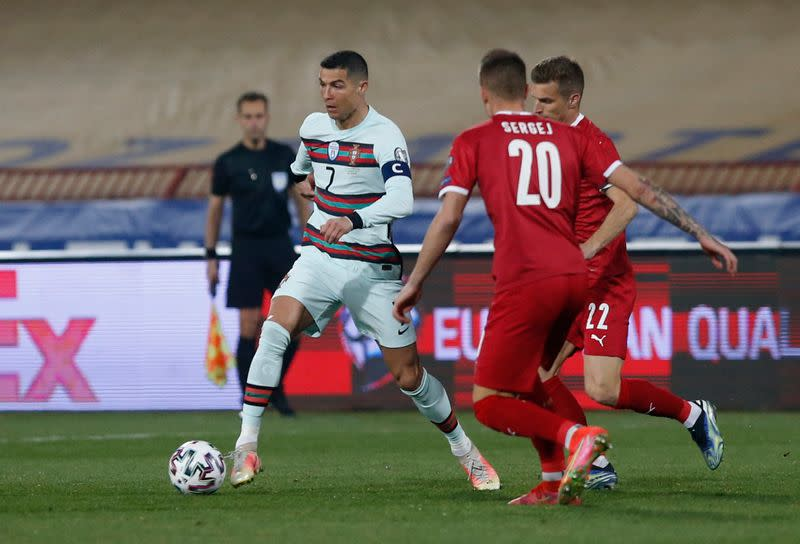 World Cup Qualifiers Europe - Group A - Serbia v Portugal