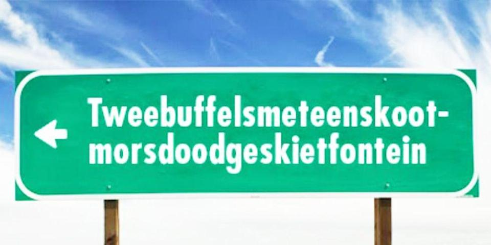 """<p>This farm name is a combo of three different languages (German, Afrikaans and Dutch) making it a true triple threat — when enunciating it that is. The 44-letter place is the longest one-word place in South Africa and ranks 4th in the world. </p><p><a href=""""https://www.housebeautiful.com/lifestyle/news/a6249/most-popular-baby-names-in-every-state/"""" rel=""""nofollow noopener"""" target=""""_blank"""" data-ylk=""""slk:The most popular baby names by state »"""" class=""""link rapid-noclick-resp""""><em>The most popular baby names by state »</em></a></p>"""