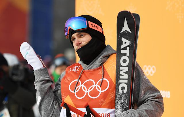 Gus Kenworthy, who won a silver medal for the United States in 2014, is considering switching to Great Britain for the 2022 Olympics in Beijing. (David Ramos/Getty Images)