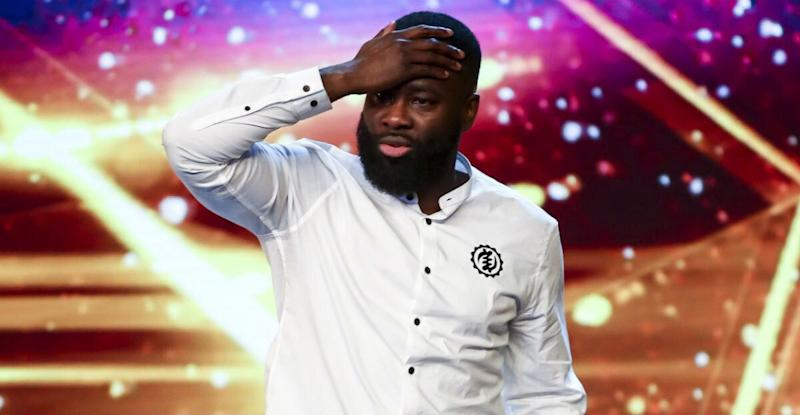Kojo Anim has revealed that he feels pressure to win Britain's Got Talent (Photo: ITV)
