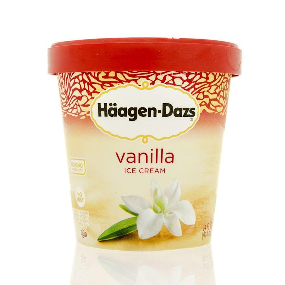 <p>Whoever said ice cream was just for dessert was wrong. Reuben Mattus started marketing the brand in 1959, and everyone was digging into it with a spoon to satisfy their sweet snack cravings.</p>