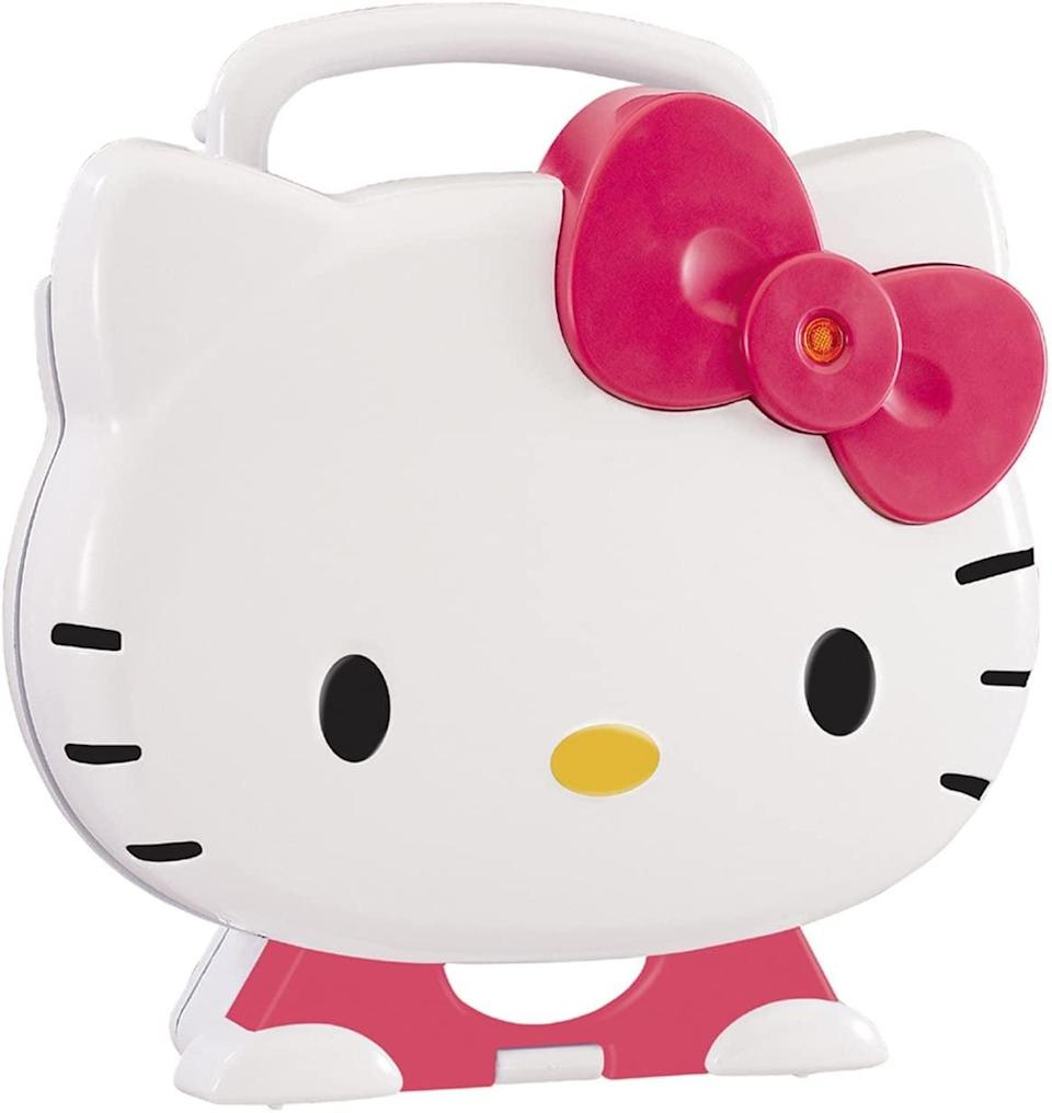 <p>Whether they need a way to make lunchtime fun or they just love sandwiches, you can't go wrong with this innovative <span>Hello Kitty Sandwich Maker</span> ($40). It's perfect for making grilled cheese, hot paninis, and more. </p>