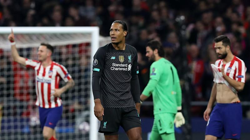 Liverpool have 90 minutes to set it right after 'unlucky' defeat to Atletico – Van Dijk