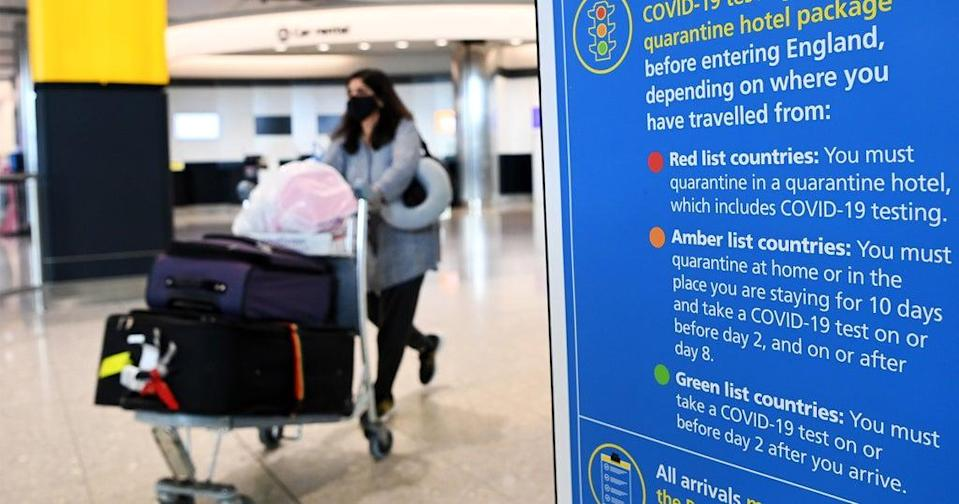 File: India had earlier warned the UK of 'reciprocal measures' if it did not address the country's concerns related to its new travel guidelines (EPA)