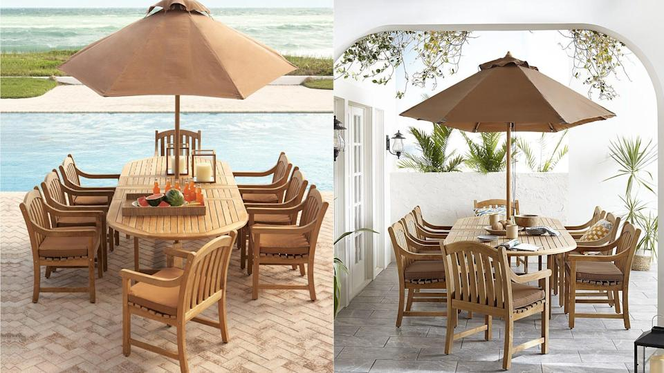 There are more patio offering on Macy's site than its brick and mortar stores.