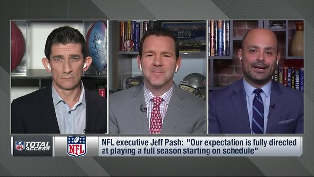 "NFL Network's Mike Garafolo and Ian Rapoport discuss what the NFL is looking at with an ""entirely virtual"" 2020 offseason."