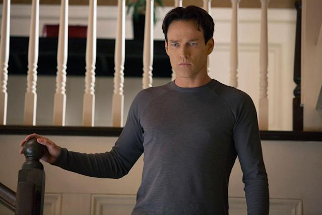 "Stephen Moyer in the ""True Blood"" Season 6 episode, ""In the Evening."""