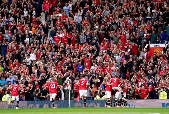Manchester United have hosted two full houses so far this season