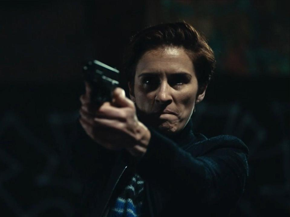 Kate Fleming (Vicky McClure) at the end of Line of Duty, series six, episode five (BBC)