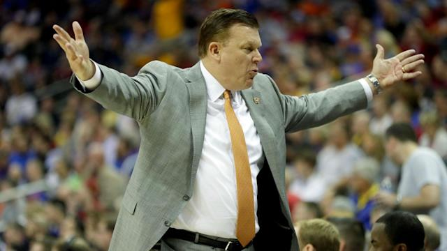 Brad Underwood left the 2017 NCAA Tournament in 40 minutes, and he left Oklahoma State University in less than a year. But he figures to stay as head coach of Illinois Fighting Illini for as long as he likes.