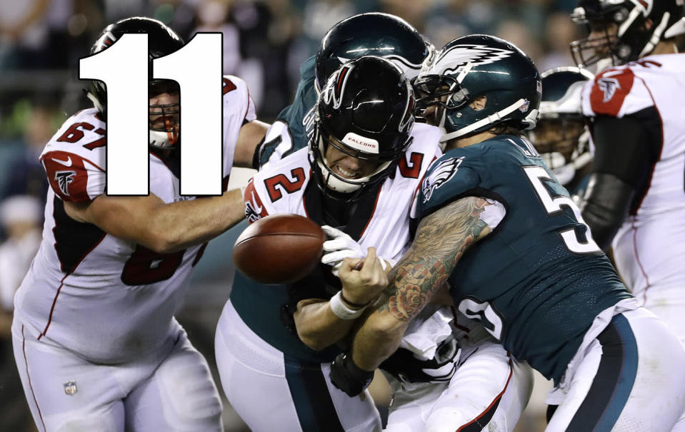 <p>The longer it goes on, the more inexplicable the Steve Sarkisian hire becomes. The Falcons had plenty of other candidates to pick from with a lot more NFL experience. (Matt Ryan) </p>