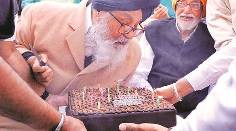 Former Punjab CM Parkash Singh Badal turns 92, celebrates at village home with family and party workers