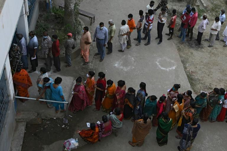 "Clashes were reported across West Bengal and election officials said that voters were being ""intimidated"" on the second day of polling in West Bengal"