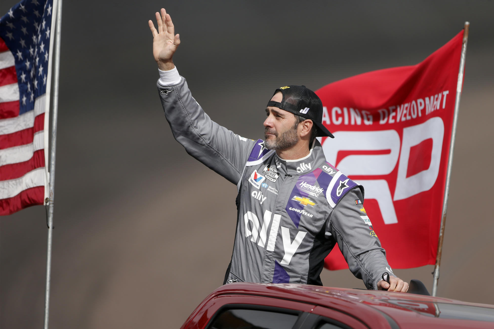Jimmie Johnson, living the dream, leaps from NASCAR to IndyCar