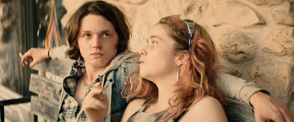 "Jack Kilmer and Alice Englert play Ohio junkies lured to an L.A. rehab facility for nefarious reasons in the drama ""Body Brokers."""