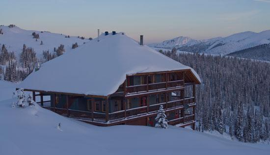 Purcell Mountain Lodge in the Canadian Rocky Mountains