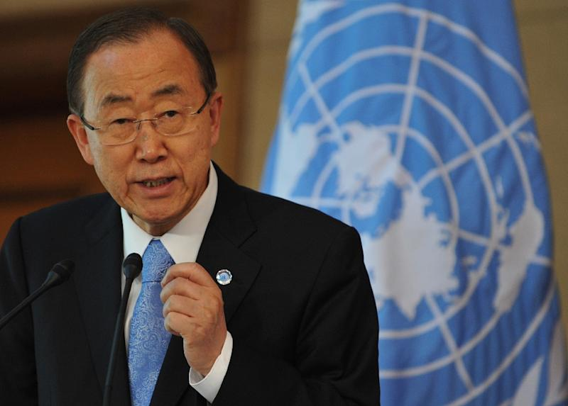 United Nations Secretary-General Ban Ki-moon has sacked the UN's C.Africa mission chief (AFP Photo/Vyacheslav Oseledko)