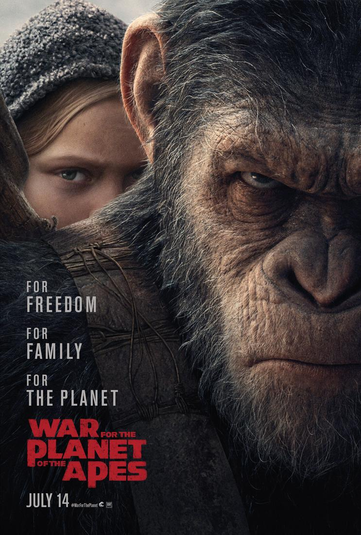'War for the Planet of the Apes' new poster (20th Century Fox)