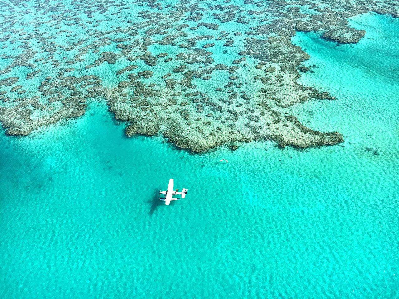"""<h2>The Great Barrier Reef</h2>                                                                                                                                                                 <p><p>In 2015, Australia's Great Barrier Reef just barely escaped being listed as an endangered World Heritage Site and in July 2016, it was <a rel=""""nofollow"""" href=""""https://www.theguardian.com/environment/2016/jun/07/the-great-barrier-reef-a-catastrophe-laid-bare"""">reported</a> that 25% of the reef had been killed off by bleaching, a side effect of climate change. As reefs die, so do the ecosystems they support, which include the humans they both feed and protect (from waves). Some scientists think it's too late to save the reef, but for now there are still hundredsof miles of healthy reef to visit—when doing so, we suggest you inquire about local coral cleanup programs. For more information on the dire situation currently faced by the world's reefs, check out the Netflix documentary<em>Chasing Coral</em><a rel=""""nofollow"""" href=""""https://www.netflix.com/title/80168188"""">here</a>.</p>"""