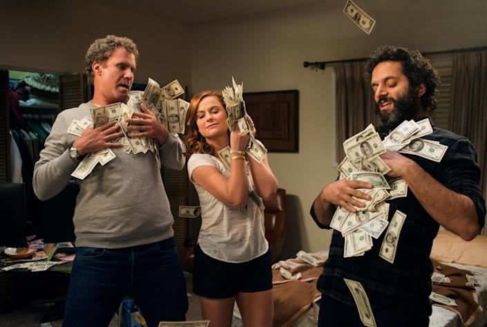 """Directed by Andrew J. Cohen &bull; Written by Andrew J. Cohen<br><br>Starring Amy Poehler, Will Ferrell,&nbsp;Jason Mantzoukas, Allison Tolman, Michaela Watkins, Sam Richardson,&nbsp;Rob Huebel and Andrea Savage<br><br><strong>What to expect:&nbsp;</strong>The writer of """"Neighbors"""" makes his directorial debut with this rowdy comedy about a suburban couple who start a basement casino to fund their daughter's college tuition. Aside from her """"Anchorman 2"""" cameo, Amy Poehler hasn't appeared on the big screen with Will Ferrell, her former """"SNL"""" colleague,&nbsp;since """"Blades of Glory"""" in 2007.&nbsp;<br><br><i><a href=""""https://www.youtube.com/watch?v=FK5OJse8haA"""" rel=""""nofollow noopener"""" target=""""_blank"""" data-ylk=""""slk:Watch the trailer"""" class=""""link rapid-noclick-resp"""">Watch the trailer</a>.</i>"""
