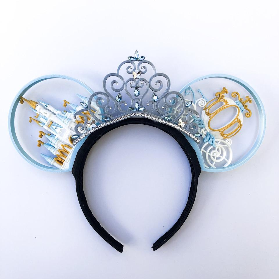 """<p>Happily ever after has never looked so promising than with these <a href=""""https://www.popsugar.com/buy/Standard-Happily-Ever-After-Ears-479533?p_name=Standard%20Happily%20Ever%20After%20Ears&retailer=imaginexears.com&pid=479533&price=45&evar1=savvy%3Aus&evar9=46495745&evar98=https%3A%2F%2Fwww.popsugar.com%2Fphoto-gallery%2F46495745%2Fimage%2F46495757%2FStandard-Happily-Ever-After-Ears&list1=disney%2Cmickey%20ears&prop13=api&pdata=1"""" rel=""""nofollow"""" data-shoppable-link=""""1"""" target=""""_blank"""" class=""""ga-track"""" data-ga-category=""""Related"""" data-ga-label=""""http://imaginexears.com/collections/princess-collection/products/happily-ever-after"""" data-ga-action=""""In-Line Links"""">Standard Happily Ever After Ears</a> ($45 with bow or $85 with tiara). </p>"""