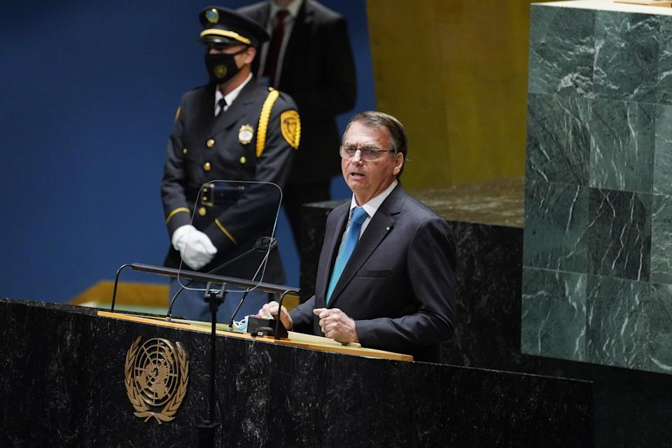 Why does Brazil speak first at the General Assembly?