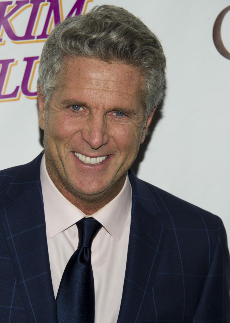 """FILE - In this May 16, 2012 file photo, Donny Deutsch arrives at the Friars Club Roast of Betty White in New York. CNN's """"(Get to) The Point,"""" featuring Donny Deutsch and panelists chewing over the day's news in the 10 p.m. EDT time slot, is off the air after a week. (AP Photo/Charles Sykes, File)"""