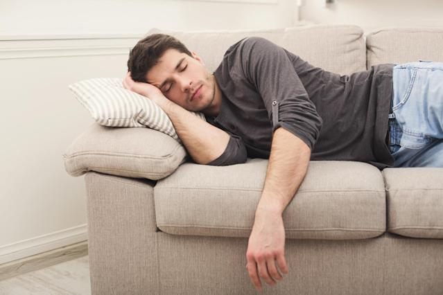 A nap a day keeps your boss off your case (Getty)
