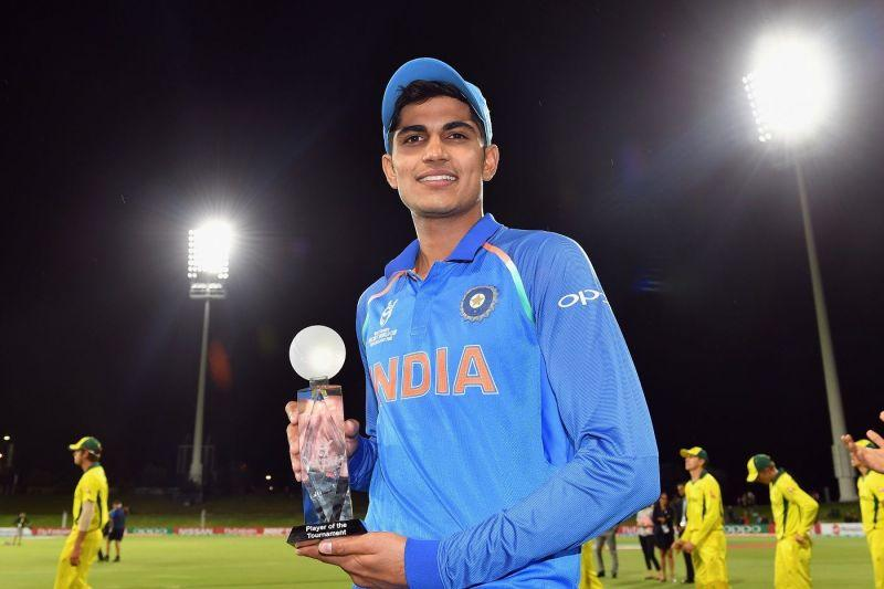 Shubman Gill was named the Player of the Tournament in the Under 19 World Cup