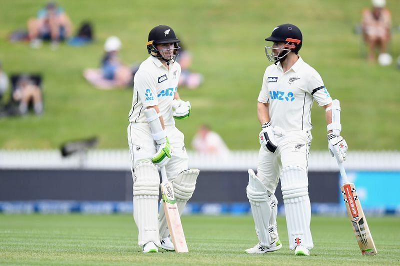 Kane Williamson (R) and Tom Latham (L) stole the show on Day 1 of the first Test
