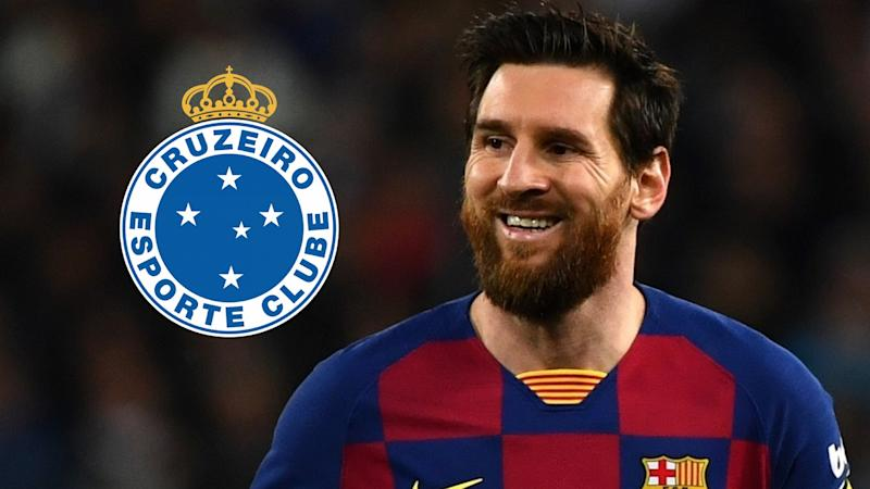 Website-Hack: Cruzeiro verkündet Fake-Transfer von Lionel Messi