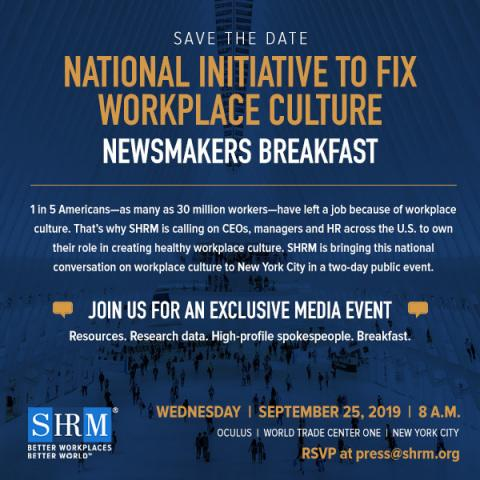 National Initiative About Toxic Workplace Cultures to Come to NYC