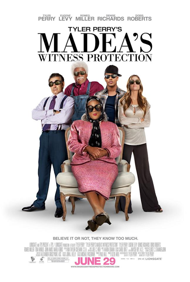 "Lionsgate Film's ""Tyler Perry's Madea's Witness Protection"" - 2012"