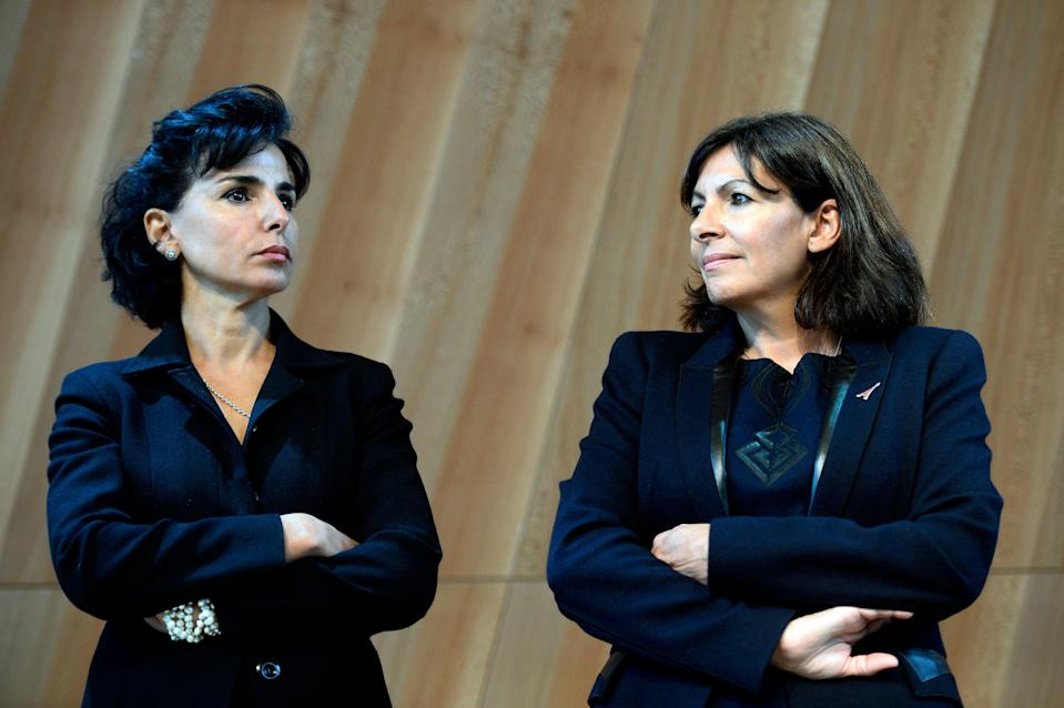 Alors que le mot-clé #SaccageParis progressait sur Twitter, il est devenu le terrain d'une lutte politique entre la maire de Paris Anne Hidalgo et ses opposants (photo d'archive de 2014). (Photo: LIONEL BONAVENTURE / AFP)