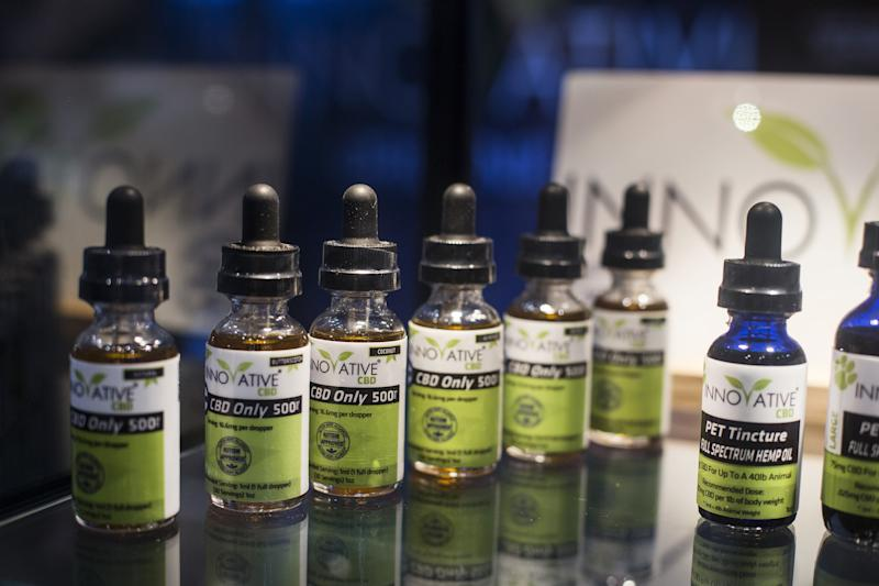 More people are turning to CBD as a way to manage mental health issues.