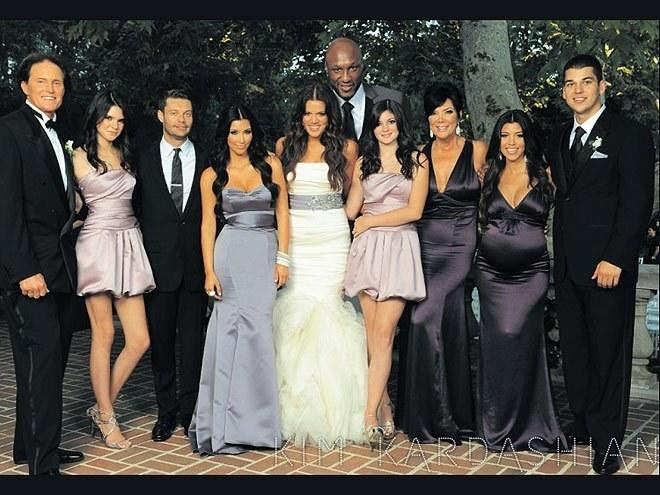 A Kardashian never misses the chance for a full-scale, glam-squad heavy photoshoot. The fact that they skipped a prime opportunity for the 2009 holiday card in favor of an outtake from Khloe's wedding is very off-brand.