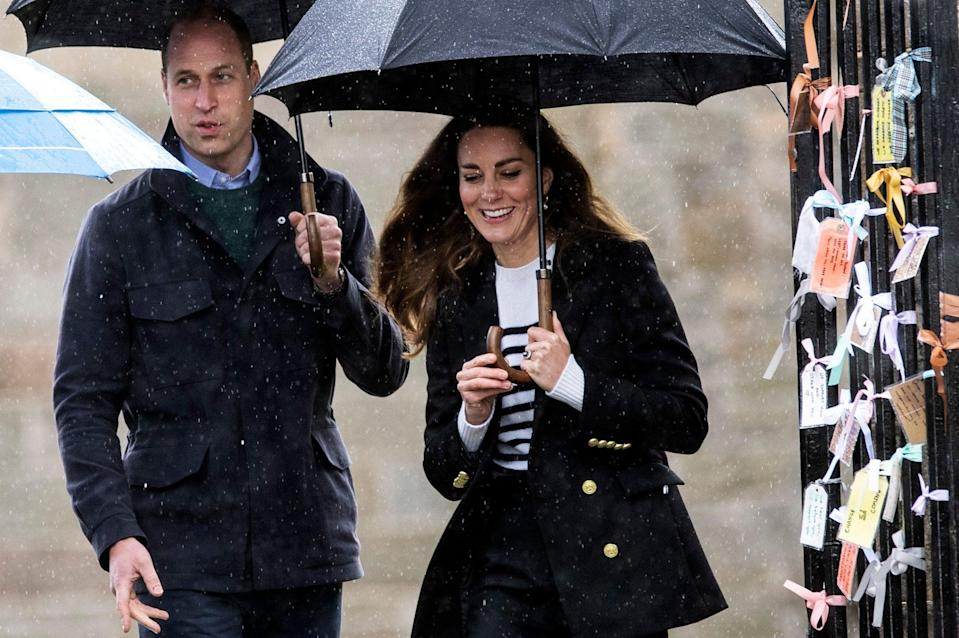 <p>William and Kate in Scotland</p> (Getty Images)