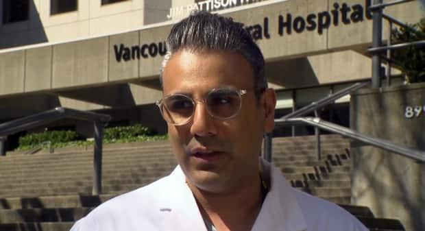 Dr. Hussein Kanji is the medical director of the high acuity unit at Vancouver General Hospital.