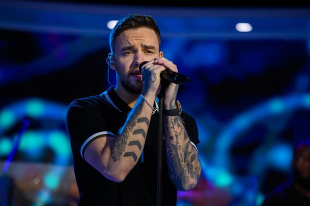 Pictured: Liam Payne on Wednesday, December 18, 2019 -- (Photo by: Nathan Congleton/NBC/NBCU Photo Bank via Getty Images)